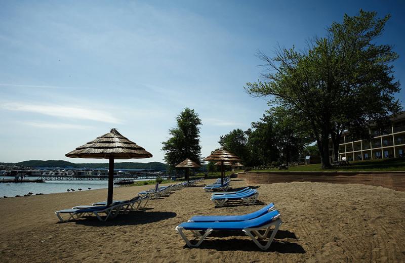 Beach at Fourwinds Resort & Marina.