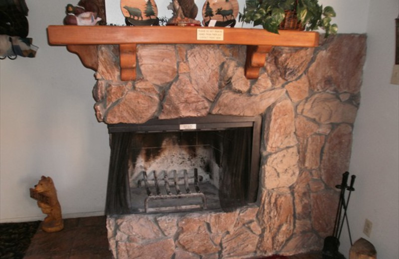 Fire Place at Lifts West Condominium Hotel