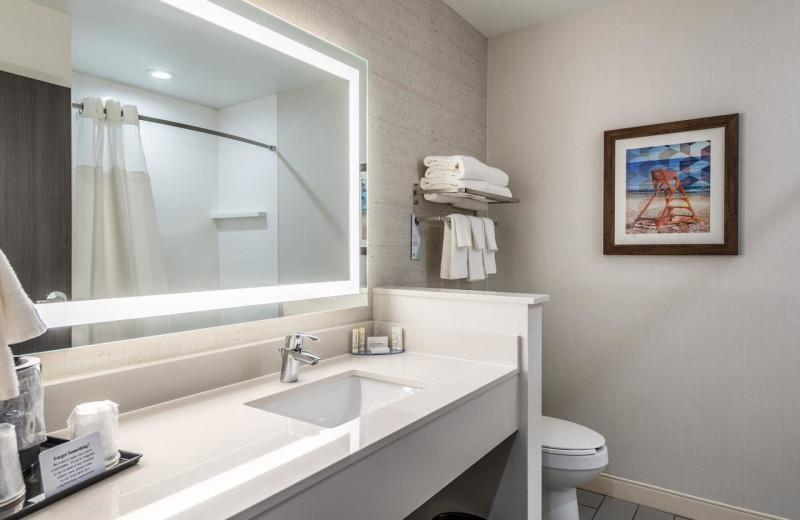 Guest bathroom at Fairfield Inn & Suites - Stevensville.