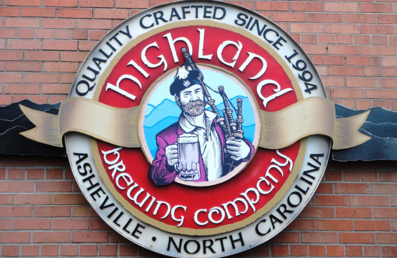 Highland Brewing Company near Brookstone Lodge.