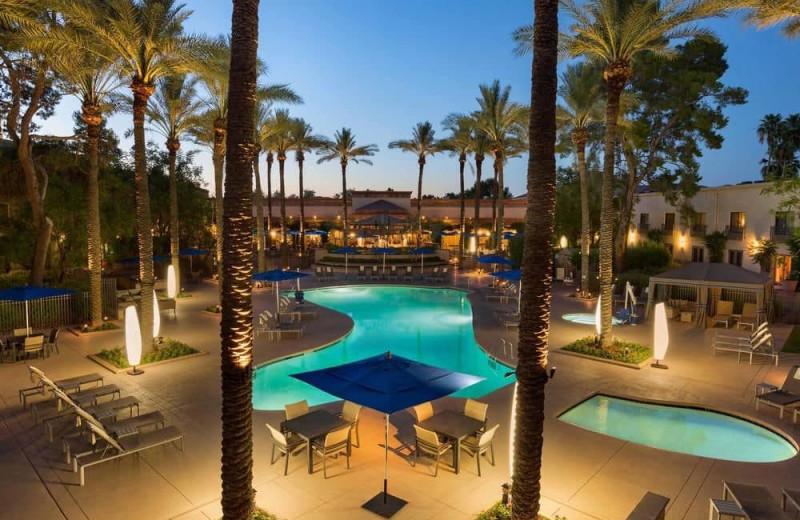 Outdoor pool at Hilton Scottsdale Resort & Villas.