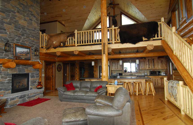 Lodge Interior at Rocky Mountain Elk Ranch.