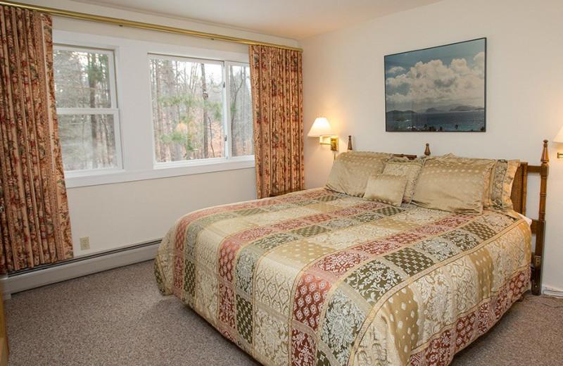 Rental bedroom at Stowe Vacation Rentals & Property Management.