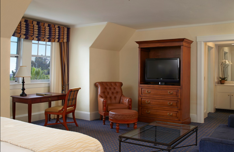 Guest room at Claremont Resort and Spa.