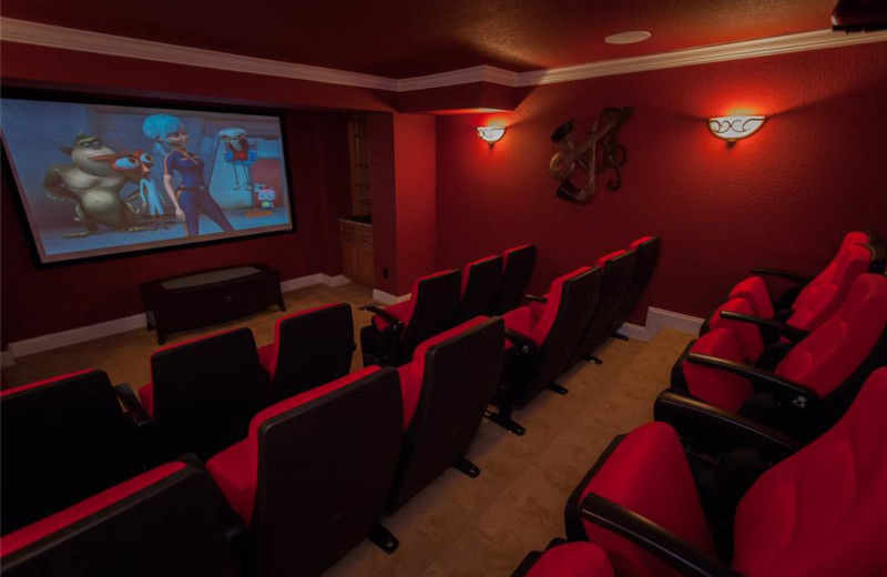 Rental theater at Sandbridge Realty.