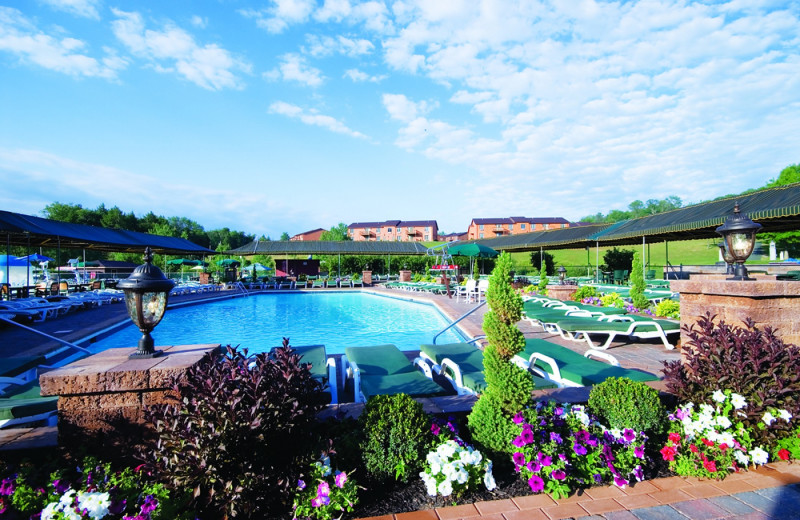 Outdoor pool at Villa Roma Resort and Conference Center.