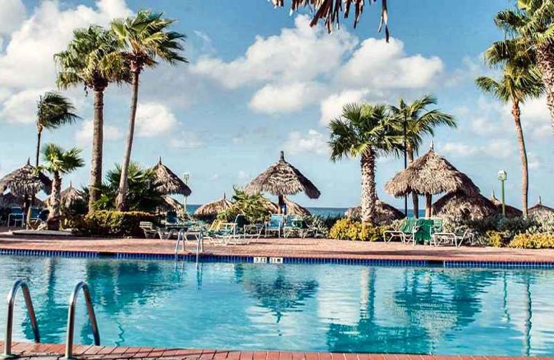 Outdoor pool at Aruba Beach Club.