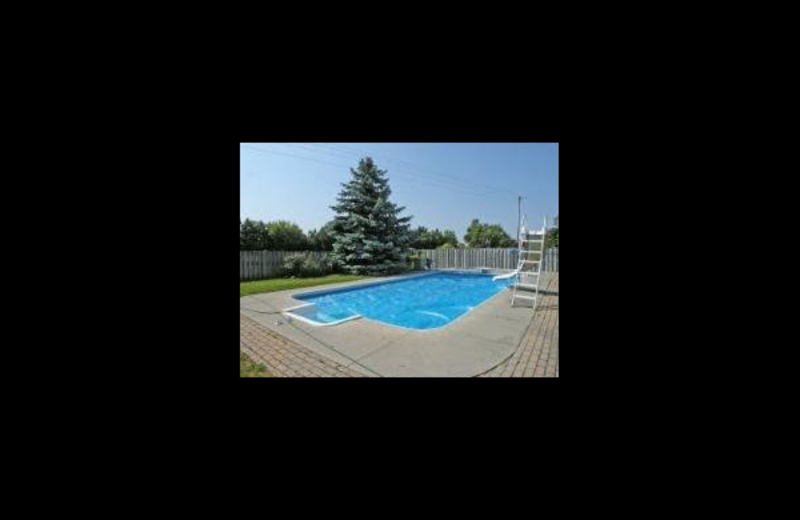 Outdoor pool at Cindy's Bayshore Bed and Breakfast.