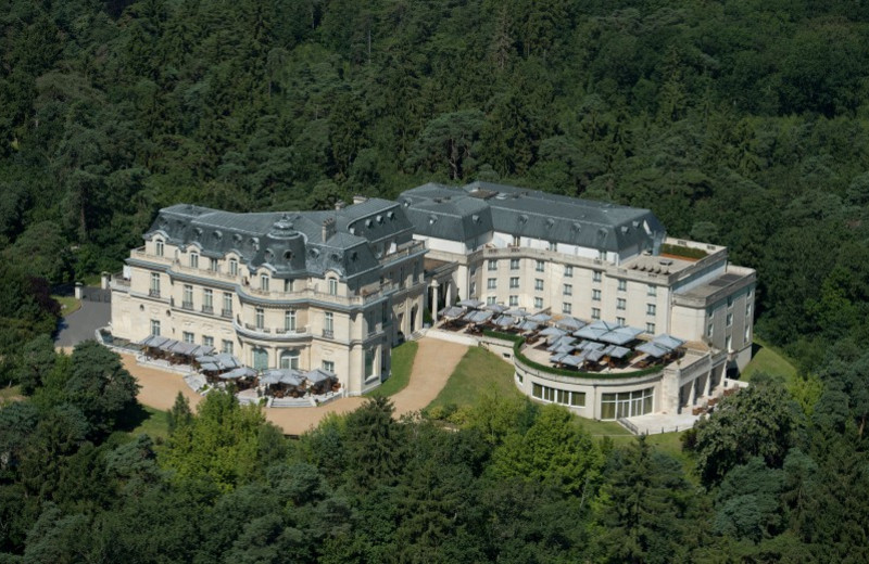 Aerial view of Chateau Hotel Mont Royal.