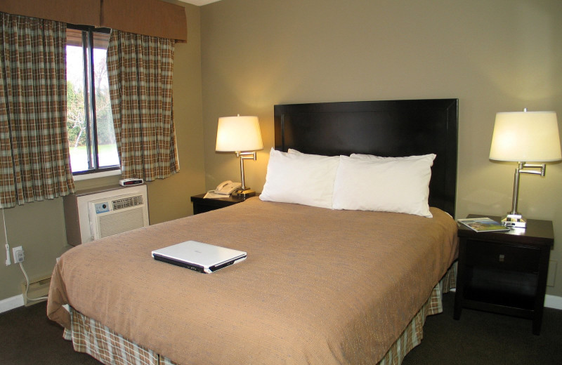 Guest room at Recreation Inn & Suites.