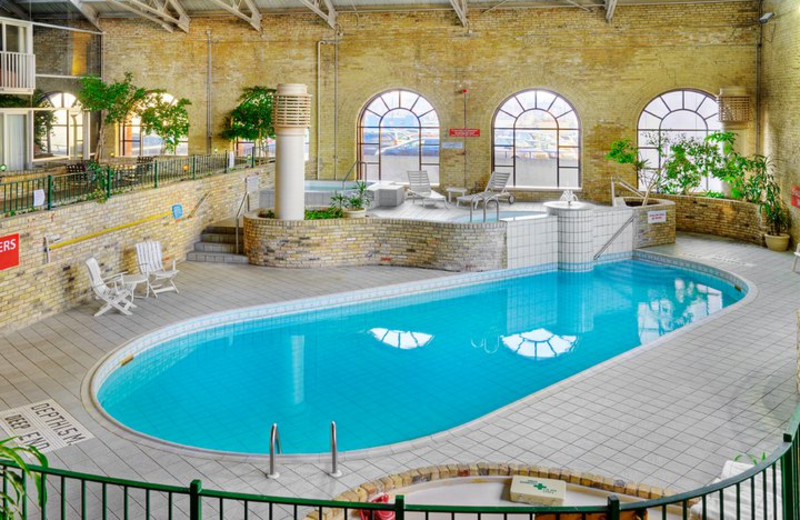 Indoor Pool at the Delta London Armouries Hotel