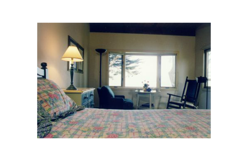 Guest room at Inn On Tomales Bay.