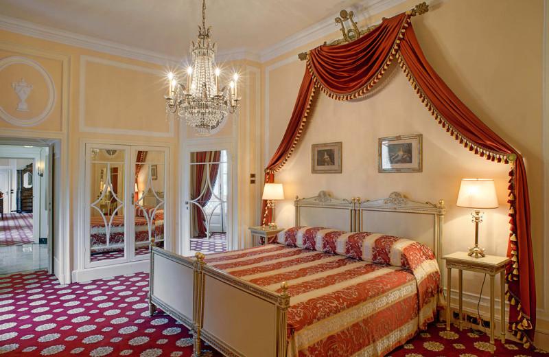 Guest room at Villa d'Este.