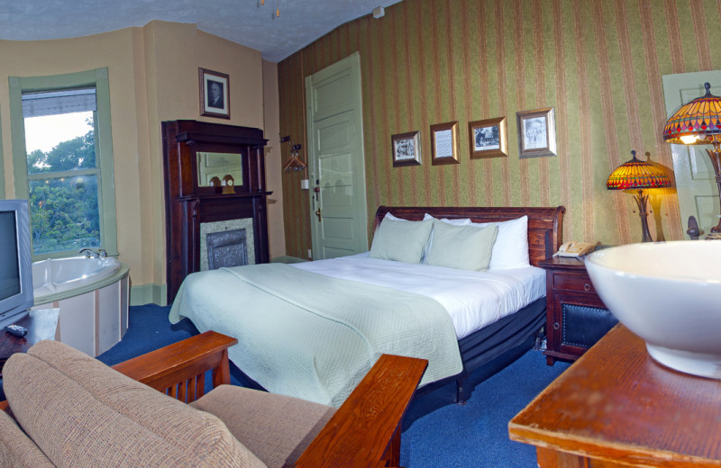 Suite at 1905 Basin Park Hotel.