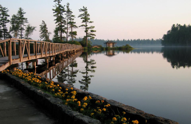 The Lake at White Pine Camp