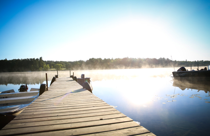 Half Moon Trail Resort is located on the beautiful and pristine Boot Lake in Park Rapids, MN.