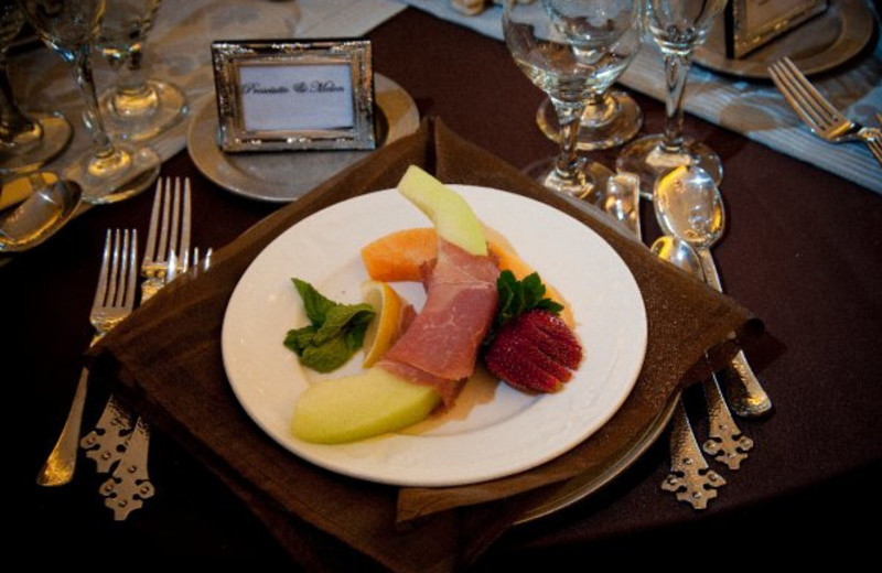 Delicious dinners at Stroudsmoor Country Inn.