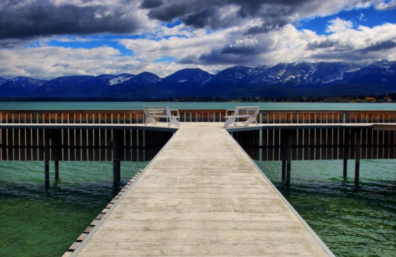 Lake Lounging at the Best Western PLUS KwaTaqNuk Resort