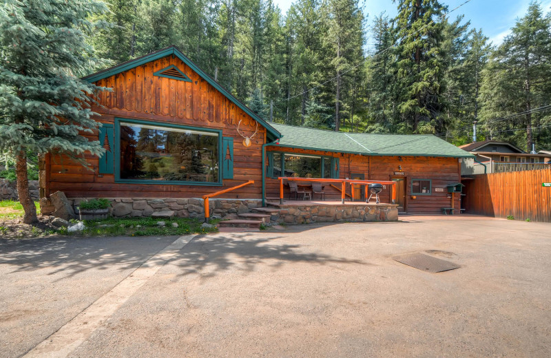 House at Colorado Bear Creek Cabins.