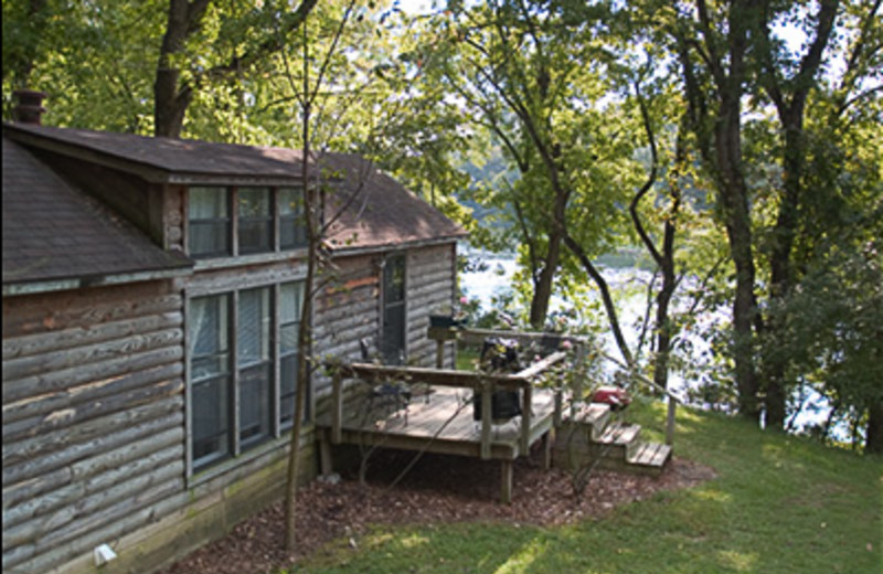 Exterior of Cabin at His Place Resort