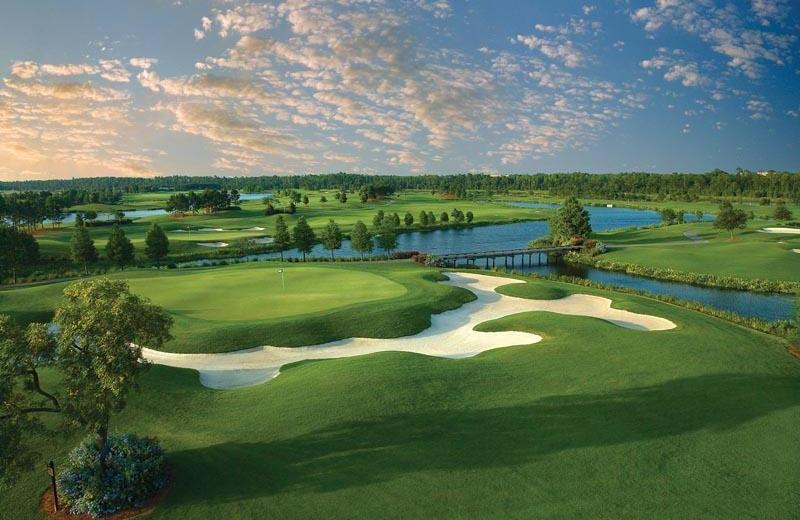 Golf course near Floridays Resort Orlando.
