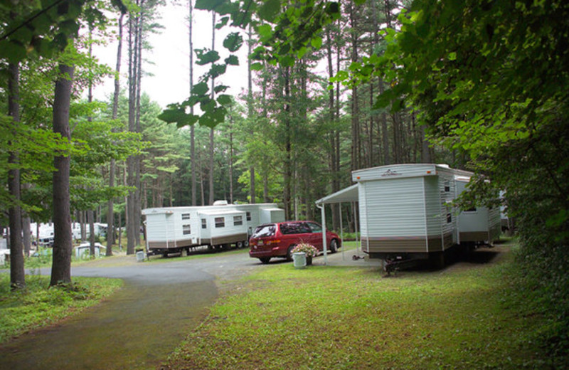 Exterior view of Lake George RV Park.