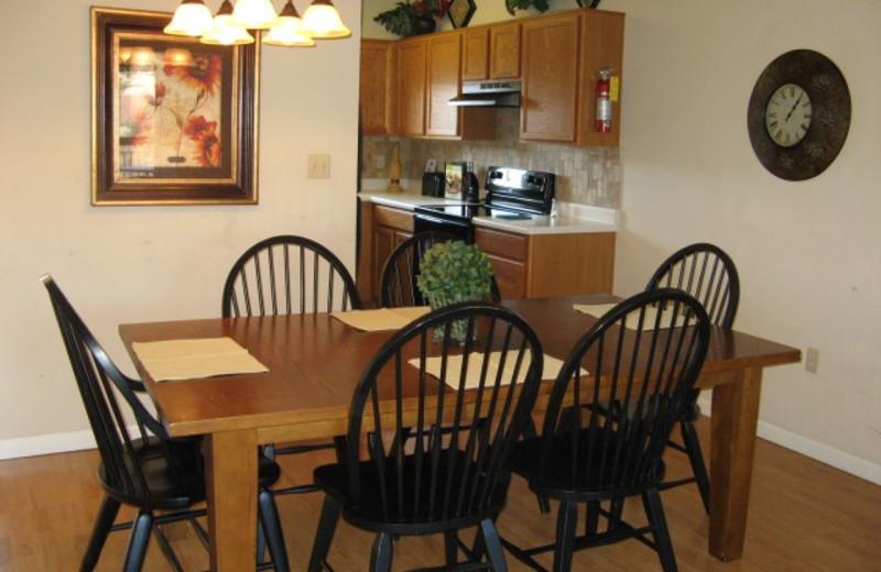 cedar dining room