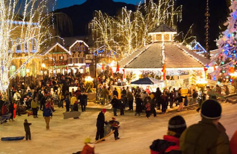 Winter time at Obertal Inn.