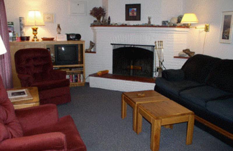 Rental Family Room at Grey Fox Inc Vacation Rentals