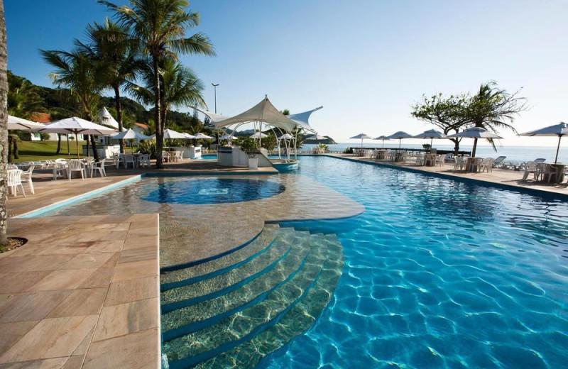 Outdoor pool at Plaza Itapema Resort.