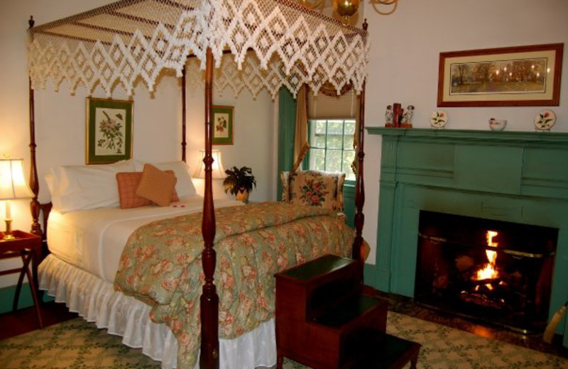 Guest room at Sweetwater Farm.