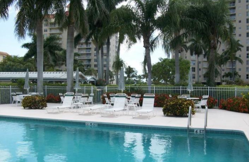 Rental outdoor pool at Phase III Real Estate.