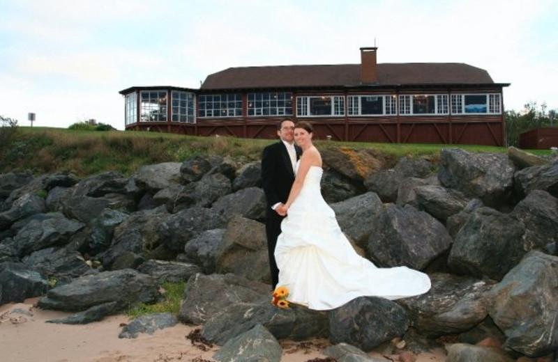 Wedding at Pictou Lodge Resort
