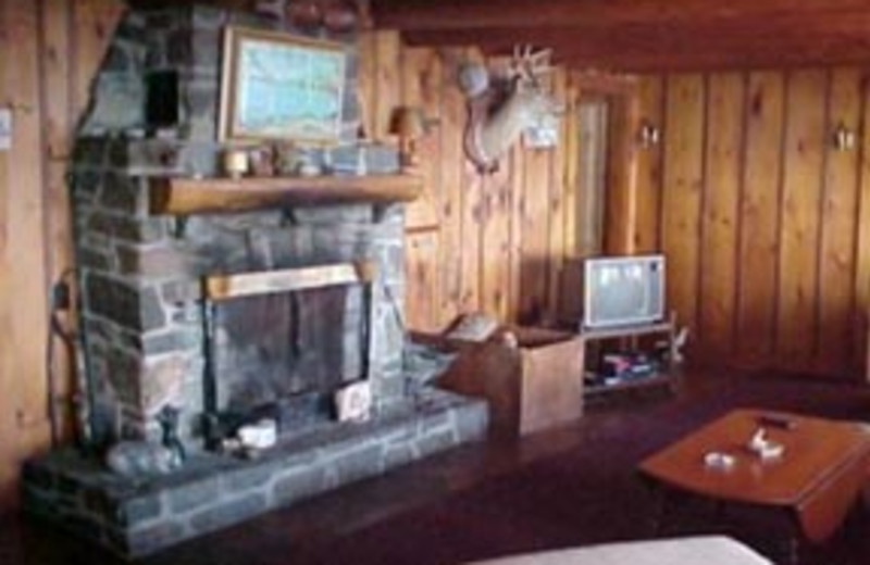 Fireplace View at The Birches Resort