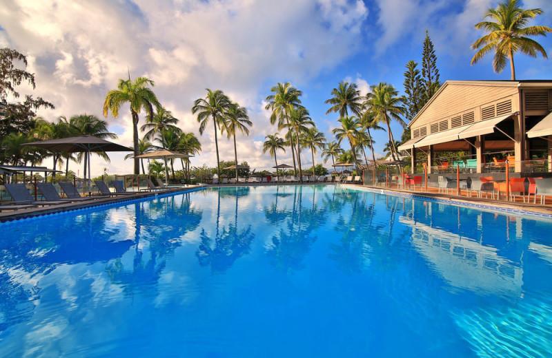 Outdoor pool at La Creole Beach Hotel & Spa.