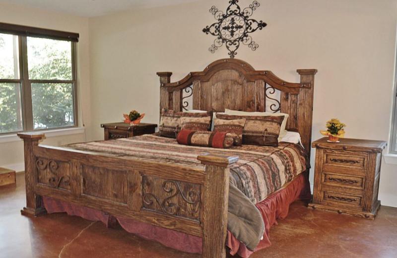 Bedroom at Elk Lodge Vacation Home.
