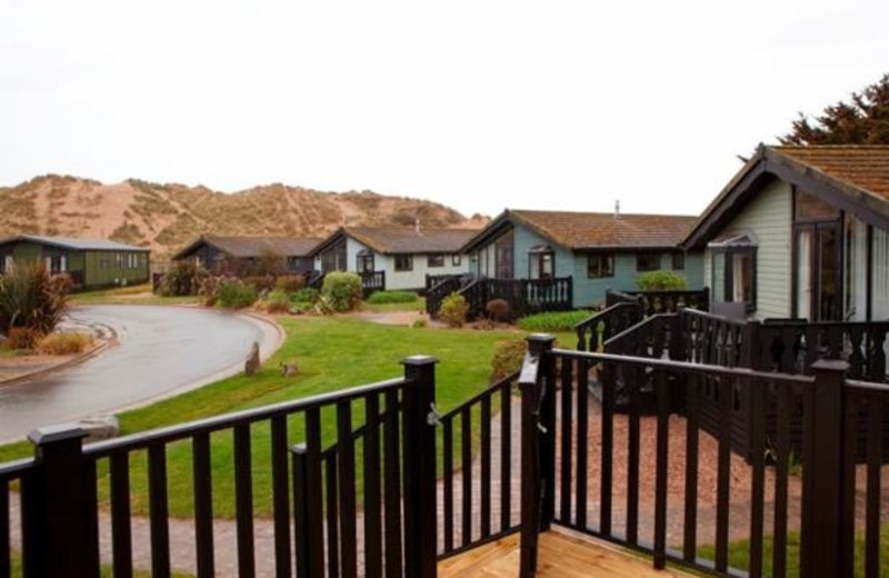 Exterior view of Croyde Burrows and Ruda Holiday Park.