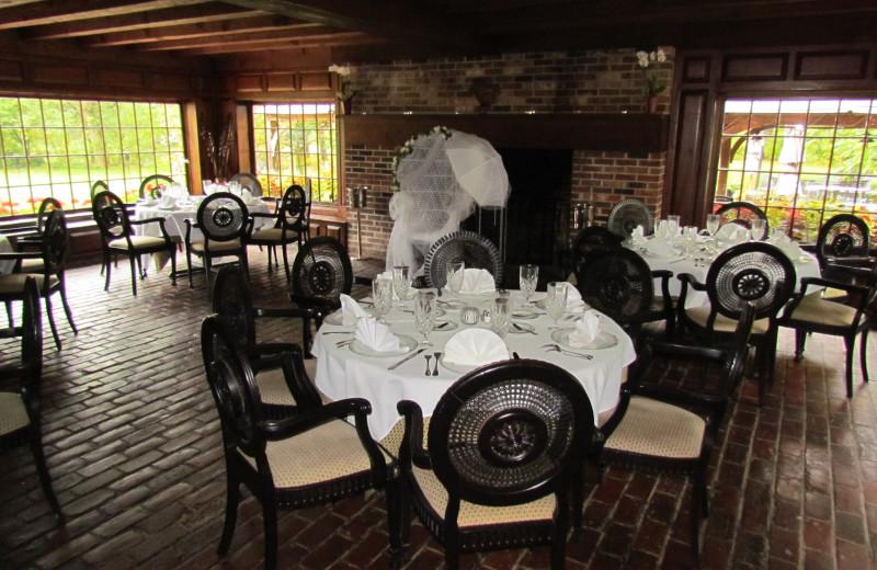 Restaurant at Bridgetown Mill House Inn.