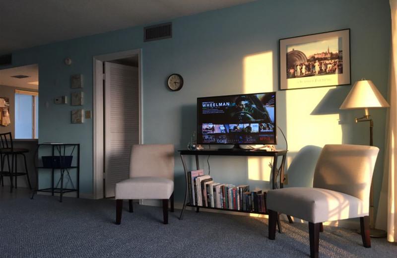 Living room at RudonCondo.