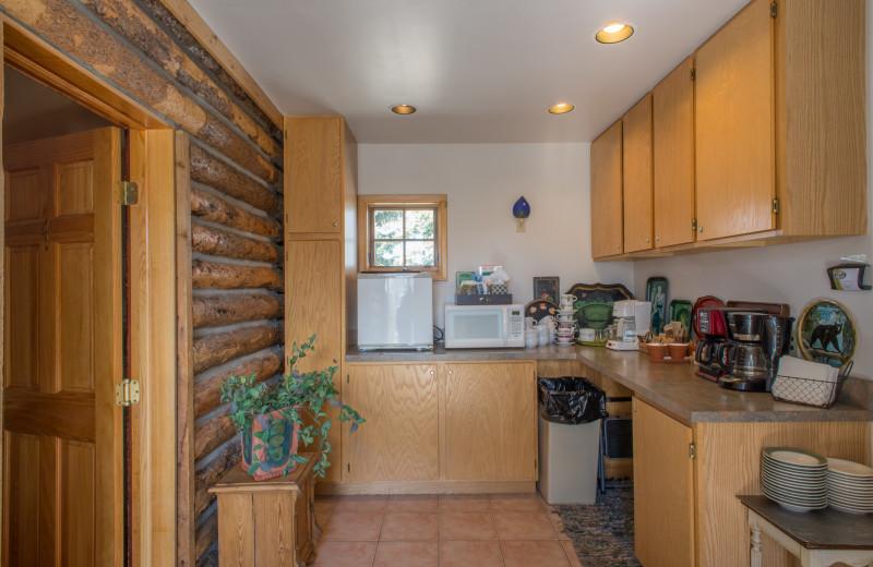 Kitchen at Twin Lakes Roadlodge.