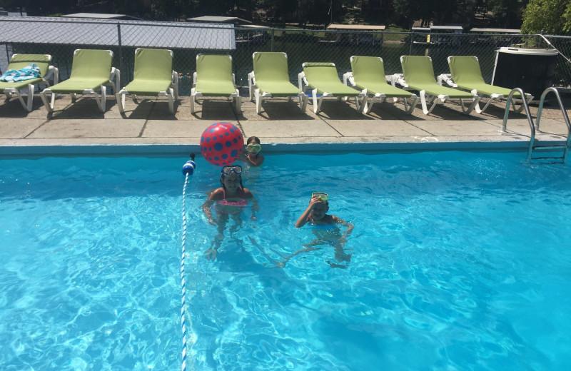 Pool at Point Randall Resort.