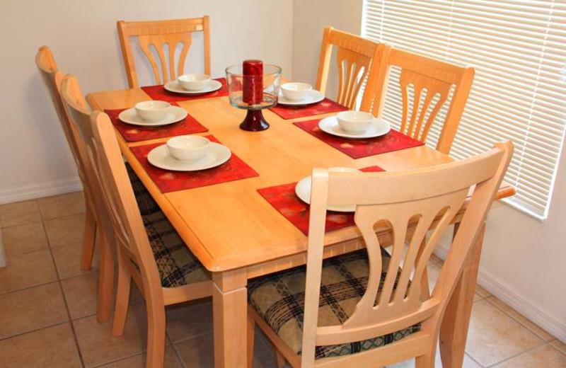 Dining Area at Advantage Vacation Homes