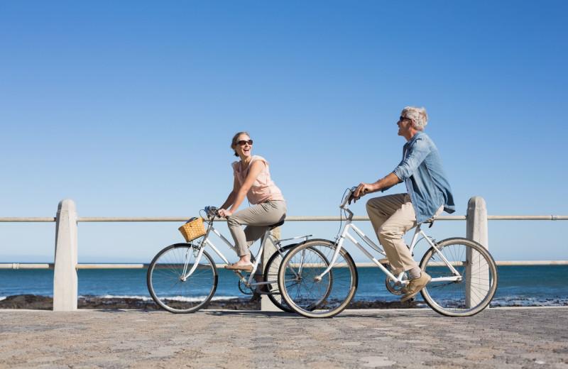 Biking at Destin Getaways.