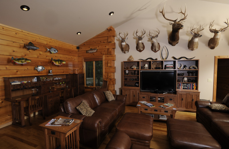 Interior view at The White River Inn.