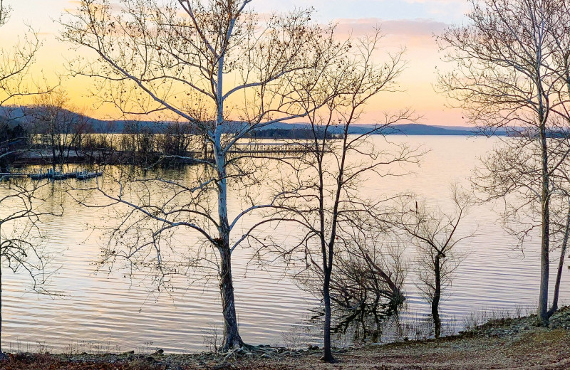 Lake view at Amazing Branson Cabin Rentals - RentBranson.