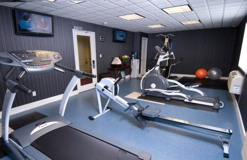 Fitness room at Capitol Plaza Hotel & Conference Center.