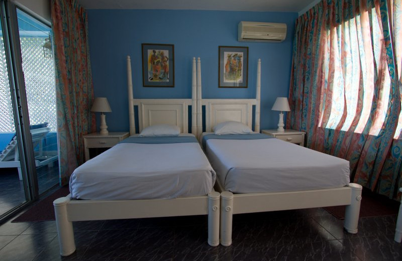 Guest room at Hibiscus Lodge.