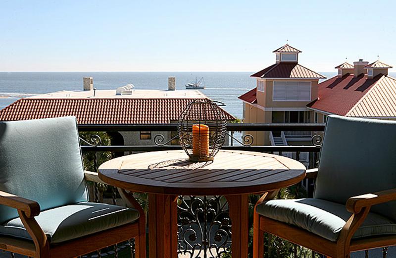 Patio View at Ocean Lodge