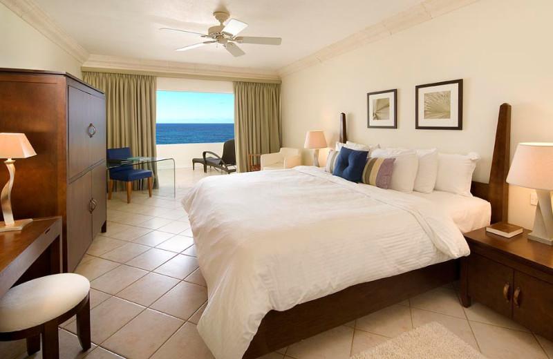 Guest room at Mango Bay.