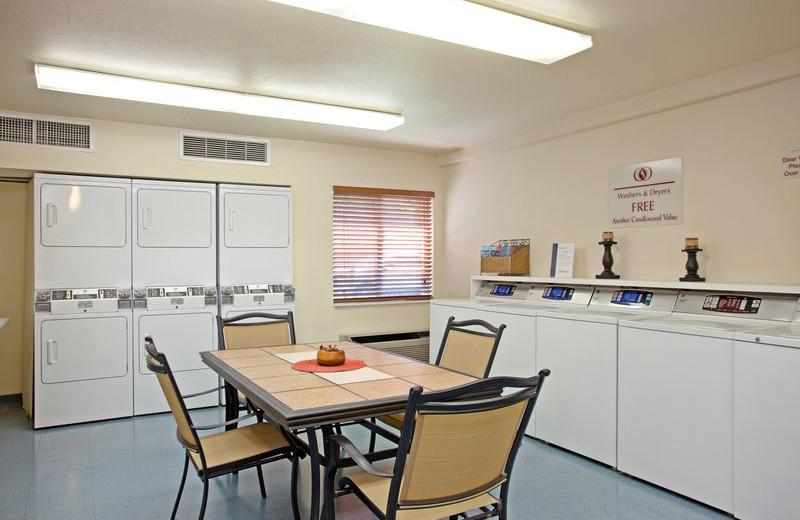 Laundry facilities at Candlewood Suites Orange County/Irvine Spectrum.